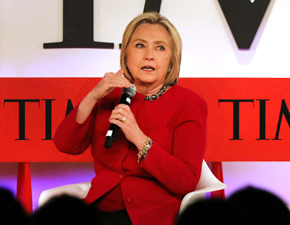 Clinton decries 'full-throated attack' on America