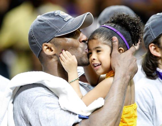 Vanessa Bryant shares throwback clip of Kobe, Gianna