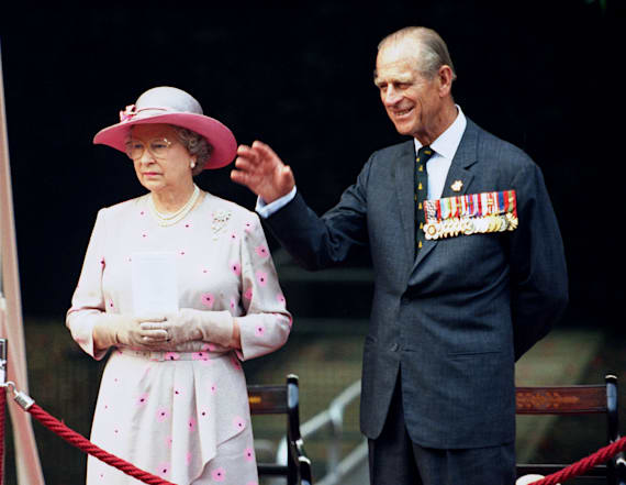 Harry is literally Prince Philip's twin in 1957 pic