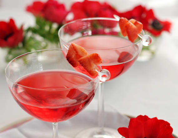 Over 30 cocktails to whip up on Valentine's Day
