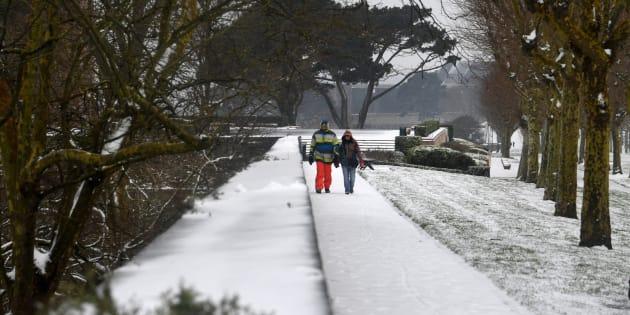 Neige et verglas: la région parisienne, l'Eure et le Calvados en vigilance orange