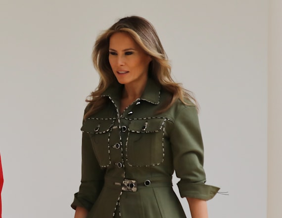 WATCH LIVE: Melania Trump receives WH Christmas tree