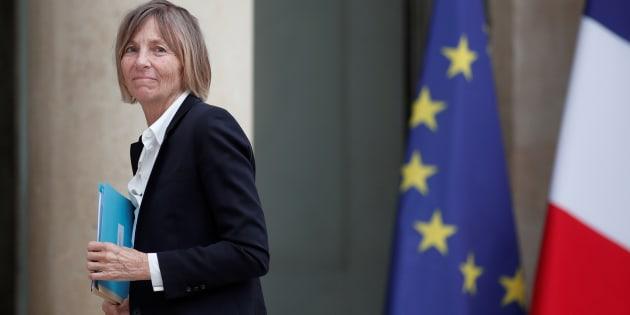 La ministre des Affaires européennes MarielledeSarnez arrive à l'Élysée pour le conseil des ministres le 24 mai.