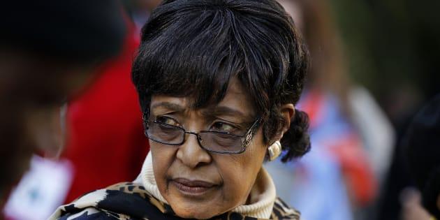 Winnie Madikizela-Mandela , former wife of Nelson Mandela.