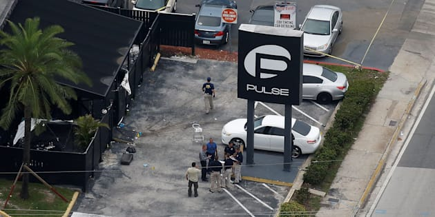 Investigators work the scene following a mass shooting at Pulse, a gay nightclub in Orlando, Florida, on June 12. ISIS claimed responsibility for the attack, but didn't direct it.