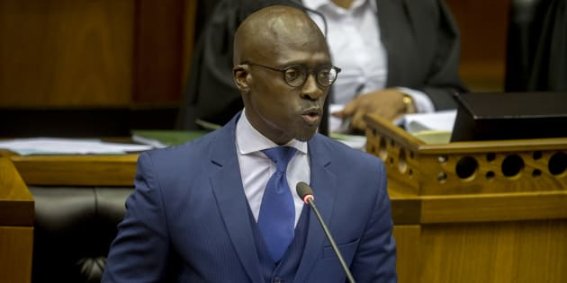 Finance Minister, Malusi Gigaba.