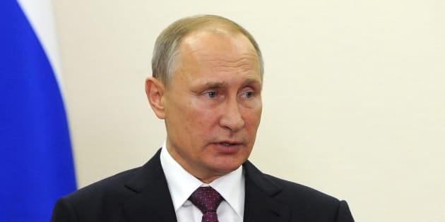 Le président russe Vladimir Poutine à Berlin, le 20 octobre 2016. (Mikhail Klimentyev/Pool Photo via AP)