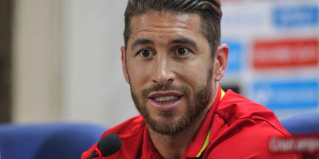 El futbolista Sergio Ramos.
