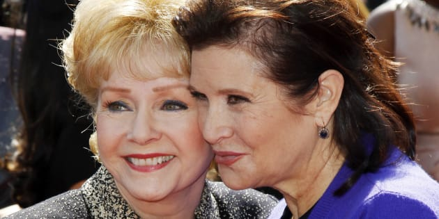 Debbie Reynolds et sa fille Carrie Fisher s'en sont allées ensemble.
