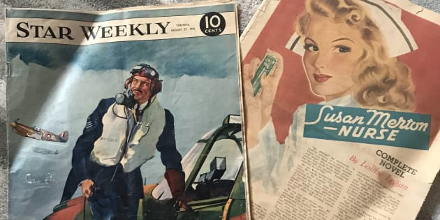 Andrew Boryski stumbled on a 1942 edition of The Star Weekly while he was renovating an old house in Saskatoon in the summer.