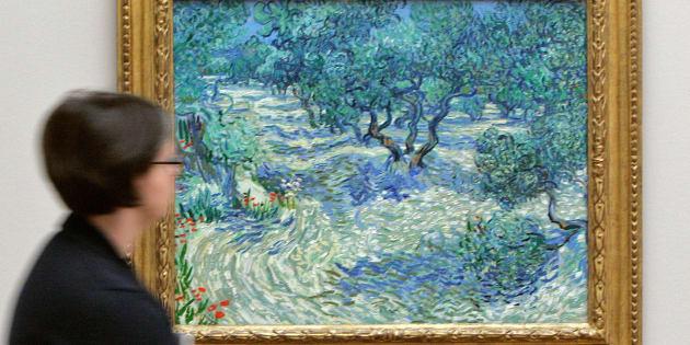 Une sauterelle morte découverte dans un Van Gogh, 126 ans après sa réalisation.