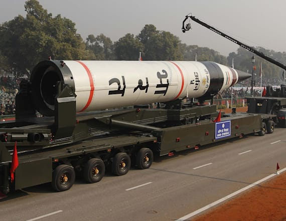 India joins test fires nuclear-capable ICBM