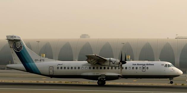 L'avion de ligne qui s'est écrasé en Iran avec 66 passagers à son bord reste introuvable (Image d'illustration)