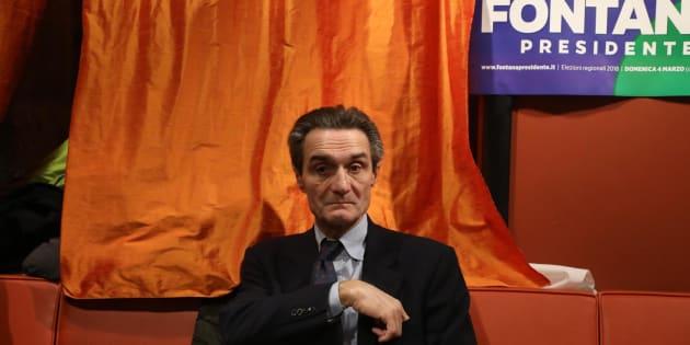 """Attilio Fontana """"mister razza bianca"""": """"Se vinco caccio 100 mila clandestini"""""""