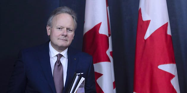 Stephen Poloz, Governor of the Bank of Canada, holds a press conference at the National Press Theatre in Ottawa on Oct. 24, 2018.