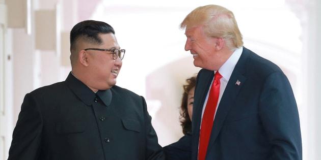 """Kim Jong Un veut revoir Donald Trump """"à une date rapprochée"""""""