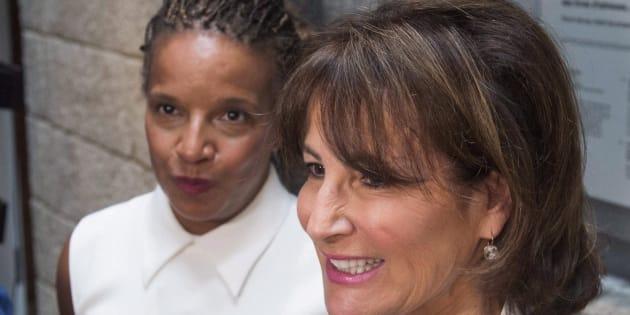 Tamara Thermitus (droite) et Kathleen Weil