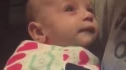 El bebé futbolero que deja de llorar cuando escucha el himno de Champions