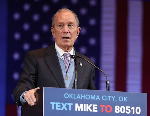 Bloomberg says he'll run 'right to the bitter end'