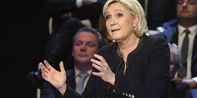 La petite phrase de Le Pen pendant le débat que personne n'a relevé et qui en dit long sur sa vision de la France REUTERS/Lionel Bonaventure/Pool