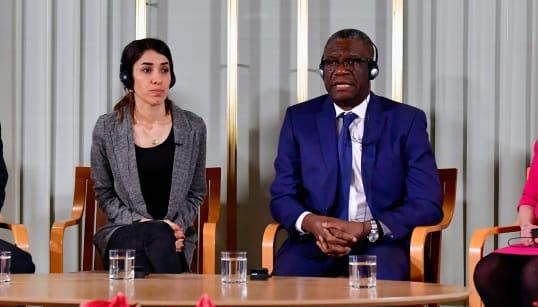 Le plaidoyer du Nobel de la Paix Denis Mukwege contre l'impunité du