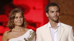 Natalia Sánchez y Marc Clotet, padres de una