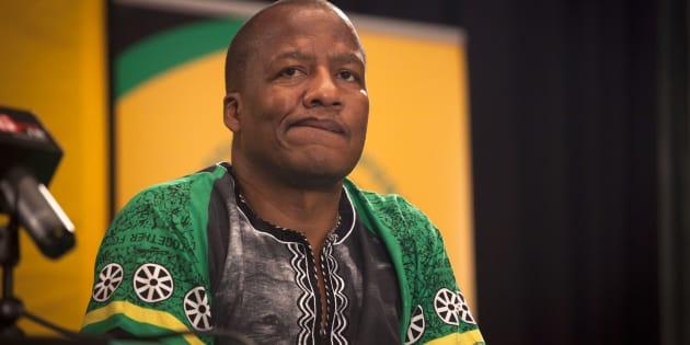 ANC spokesperson Jackson Mthembu.
