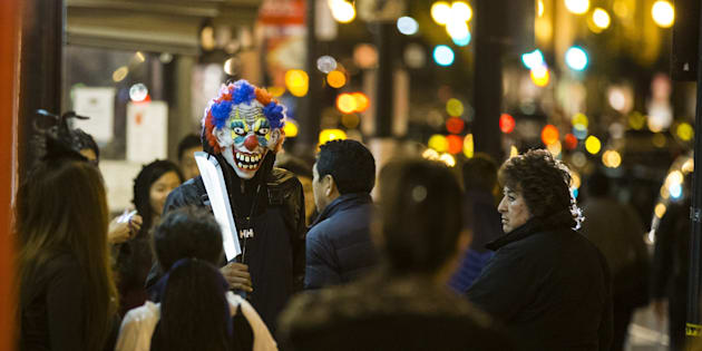 Clown sightings have spread from the United States and United Kingdom to Australia.