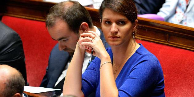 Marlène Schiappa le 4 octobre à l'Assemblée nationale.