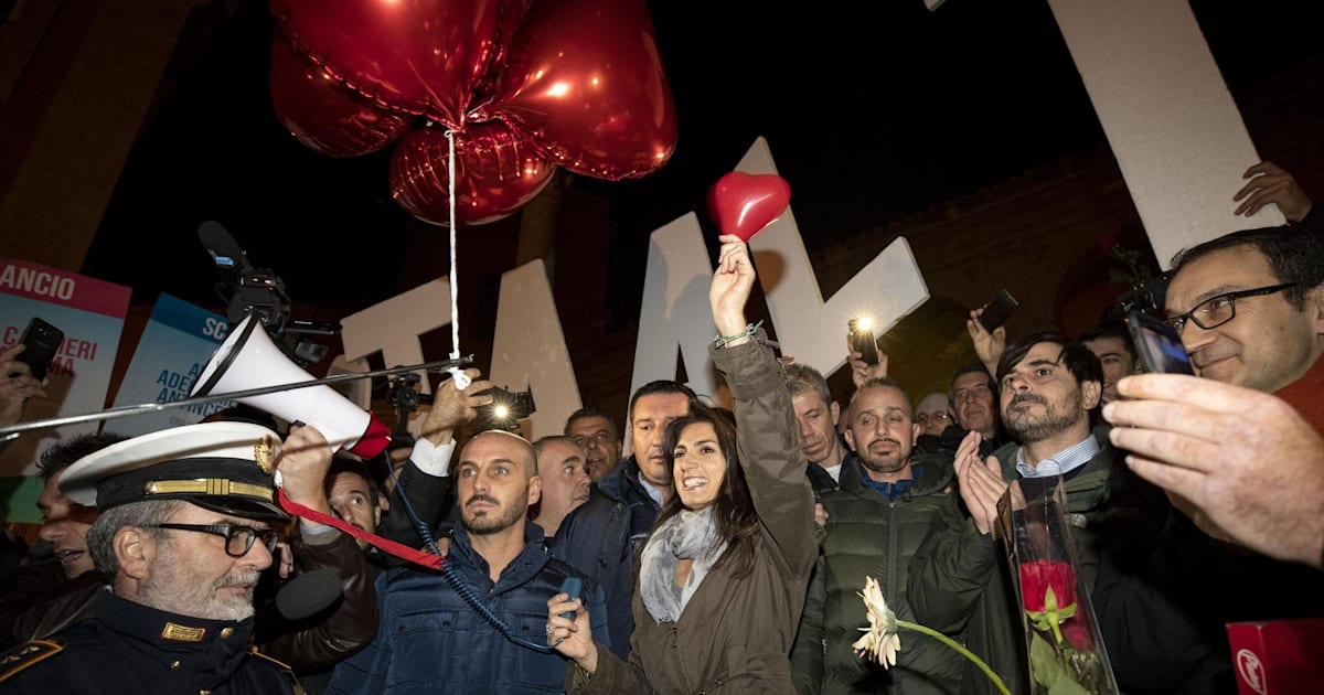 The Rally In Rome In Favor Of Virginia Raggi Is Not Filling Up