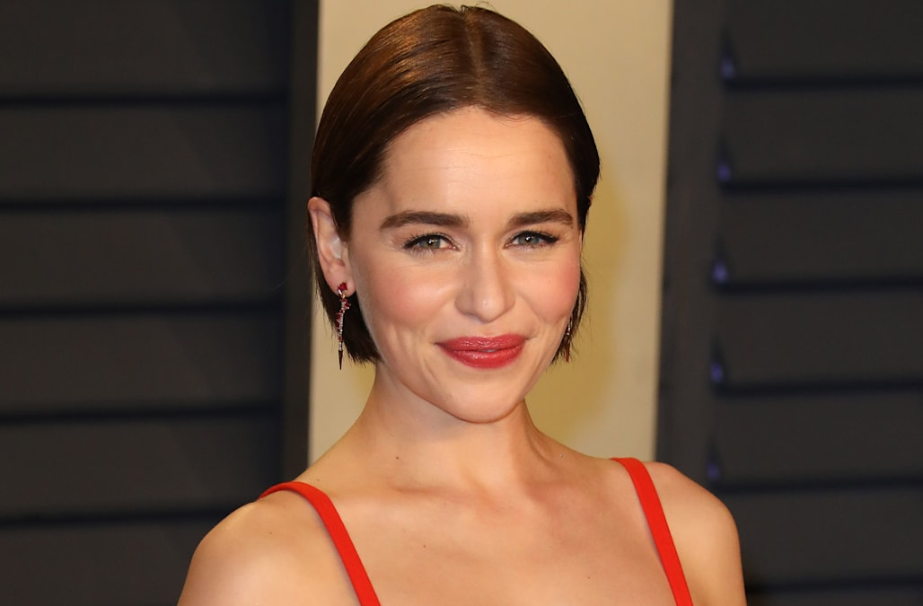 Emilia Clarke on surviving two brain aneurysms: 'I've cheated death' - AOL image