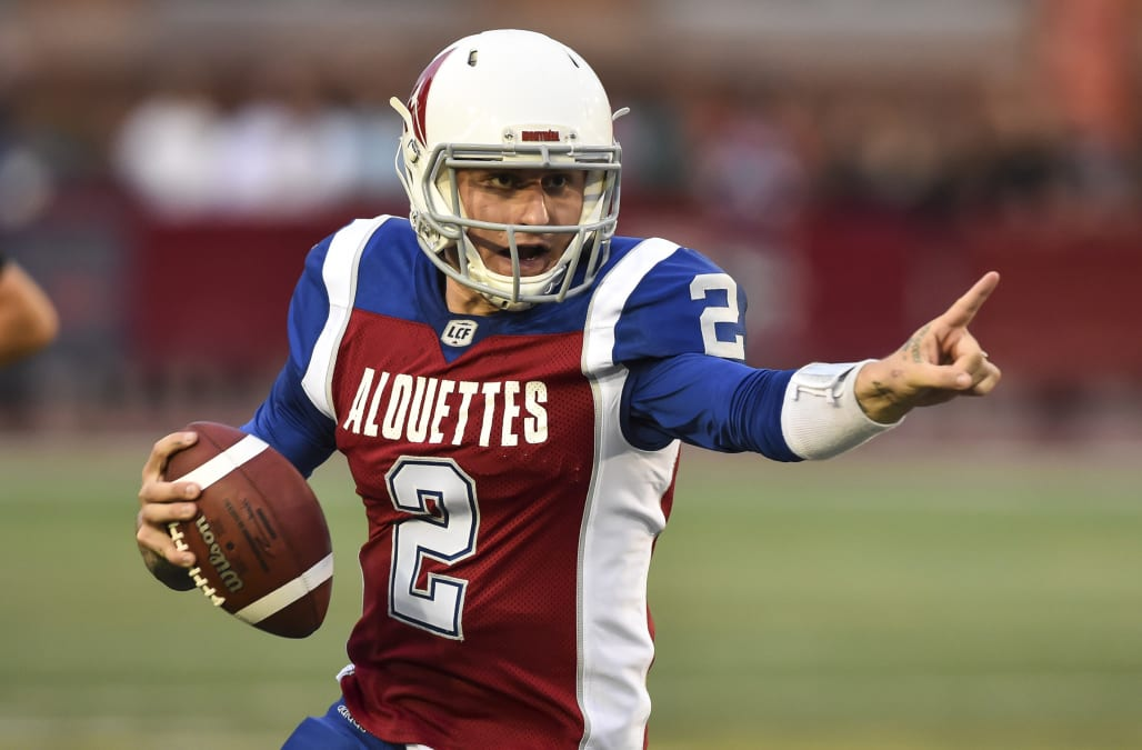 af3612326 Johnny Manziel throws 4 interceptions and gets benched in absolutely  disastrous CFL debut