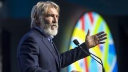 El potente discurso de Harrison Ford contra el cambio