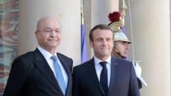 Macron annonce qu'il se rendra en Irak
