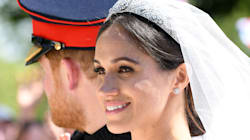 Meghan Markle's Minimal Makeup Wedding Look Let Her Freckles