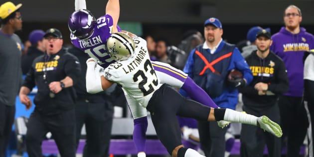 Le touchdown fou de Stefon Diggs avec les commentaires possédés de Paul Allen