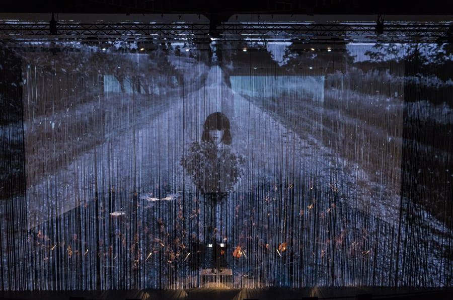 Une image tirée du projet «Réflexions sur la vie» réalisé par Normal Studio avec l'Orchestre symphonique d'Ottawa.