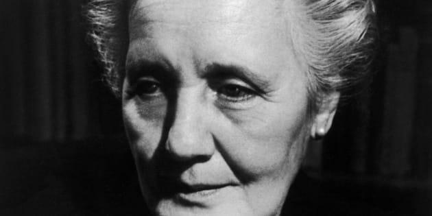 Retrato da psicanalista Melanie Klein foi feito nos anos 50.