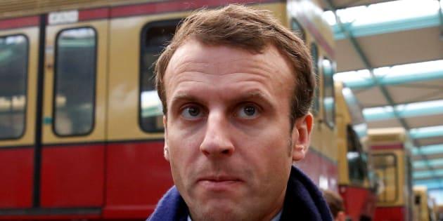 Emmanuel Macron est soutenu par Alain Minc.