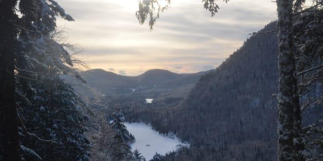 Parc national de la Jacques-Cartier au Québec