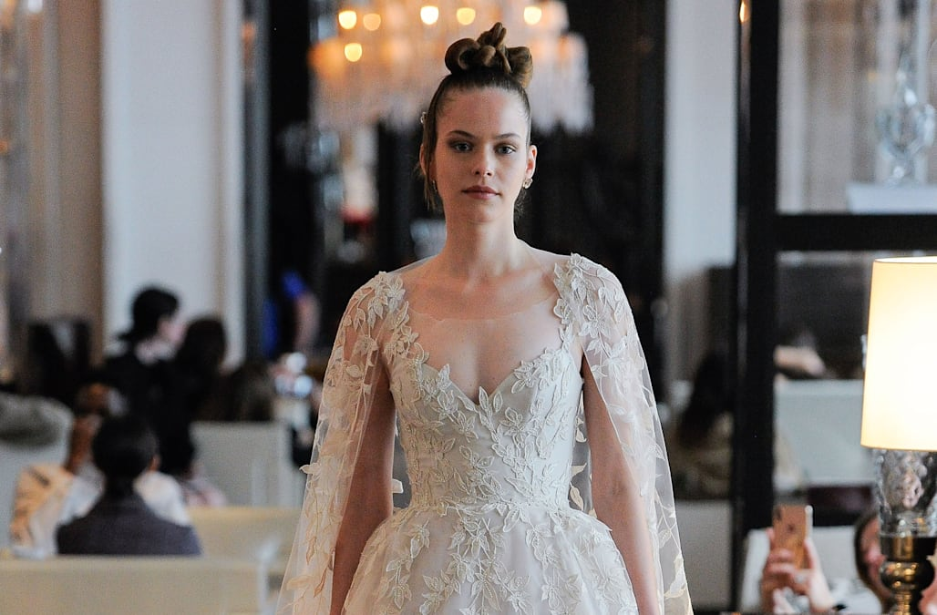 9bdb32fd0694 Bridal Week: Ines Di Santo puts on a whimsical presentation for Spring/Summer  2020