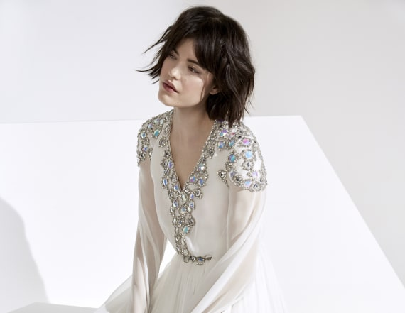 Jenny Packham looks to the cosmos for Fall 2018