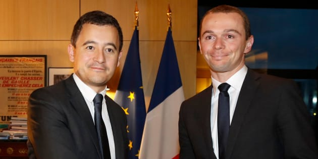 Olivier Dussopt et Gérald Darmanin n'ont pas toujours échangé de tels sourires.