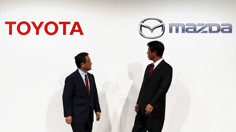 Toyota delays Mexico plant as it plans U.S. plant with Mazda