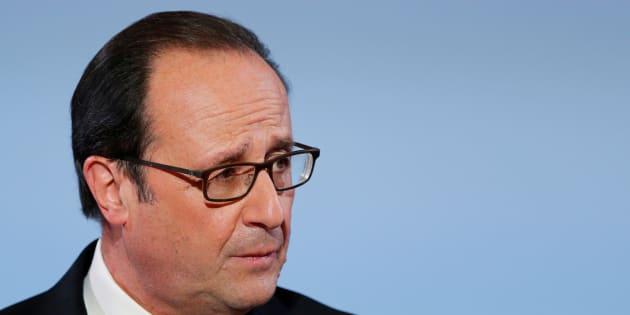 Francois Hollande à l'Elysée le 16 décembre, 2016.