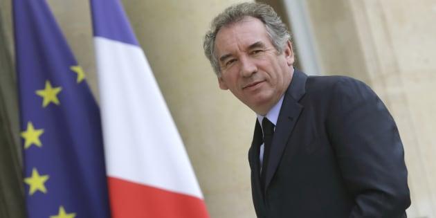 François Bayrou, leader du parti centriste MoDem.