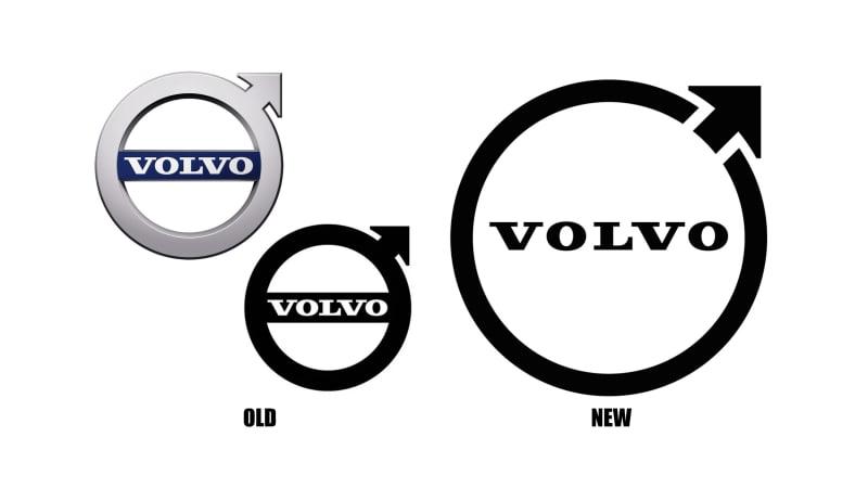 Volvo ändert das 'Iron Mark'-Logo, um es an die Zeit anzupassen€