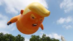 Londra infuriata con Trump. Un pallone gonfiato contro le minacce di The Donald alla