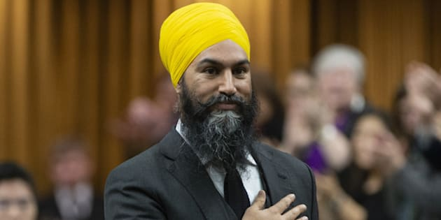 Jagmeet Singh Makes History With Parliamentary Debut, Presses Trudeau On Housing