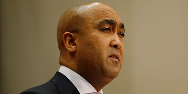 National Director of Public Prosecutions Shaun Abrahams speaks during a media briefing in Pretoria, South Africa, May 23, 2016.